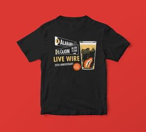 25th Anniversary Shirt, Rick Froberg Design