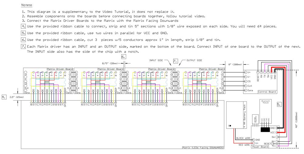 Image of Standard Bluetooth Thomas DIY LED Kit V3