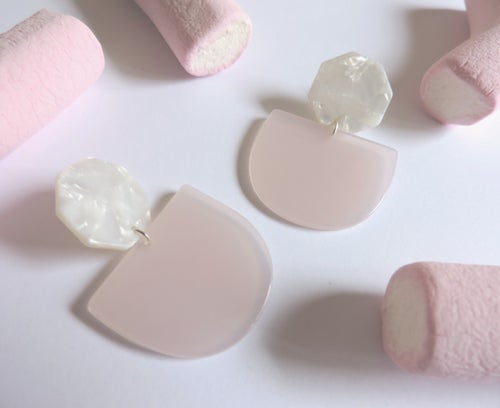 Image of Pendientes MARSHMALLOW