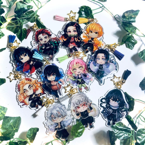 Image of KnY Charms | 3 inch, Glitter Epoxy