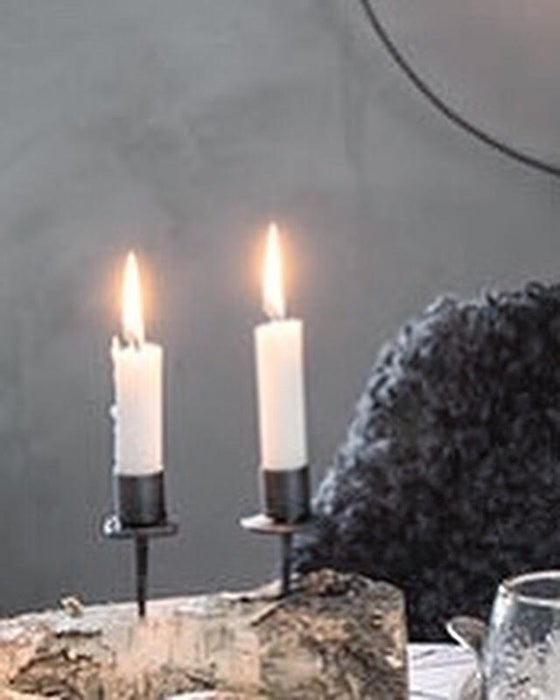 Image of CANDLE HOLDER WITH SPIKE
