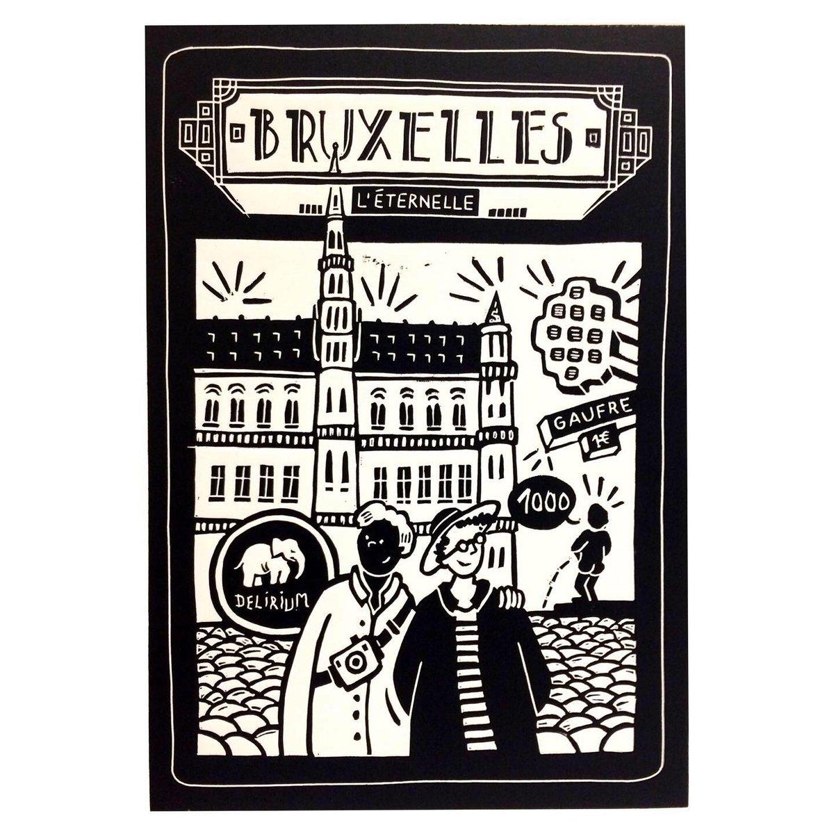 Linogravure Bruxelles
