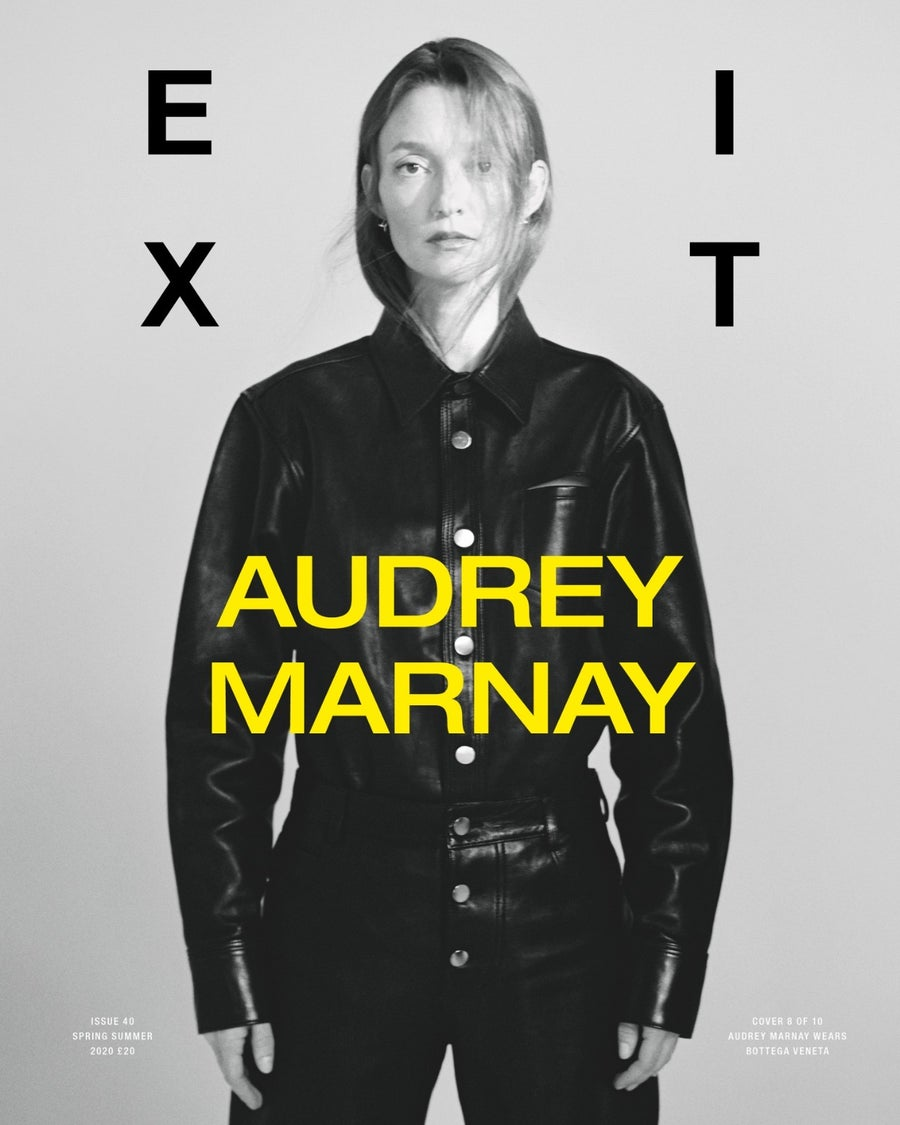 Image of EXIT ISSUE 40 SPRING SUMMER 2020 AUDREY MARNEY (Shipping April 2020) ***HARD BACK COVER***