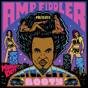 Image of Amp Fiddler - Motor City Booty - 2LP (BLACK RIOT)
