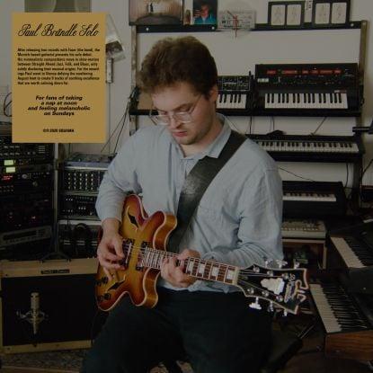 Image of Paul Brändle - Solo - LP (SQUAMA)