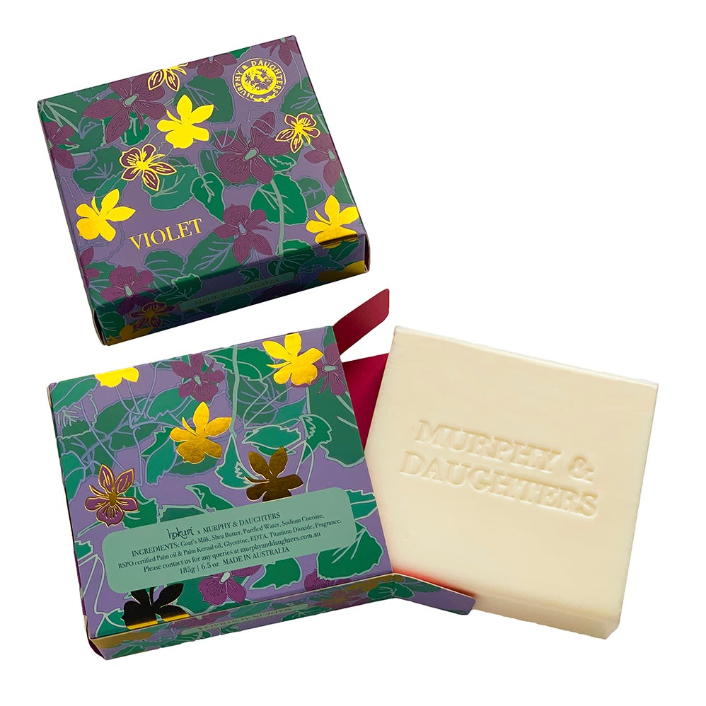 Image of Boxed Soap - Violet