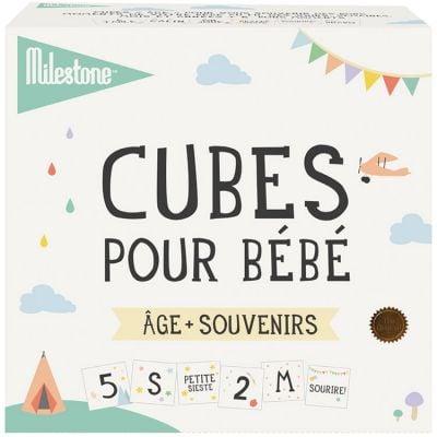 Image of Cubes pour bébé âge + souvenirs