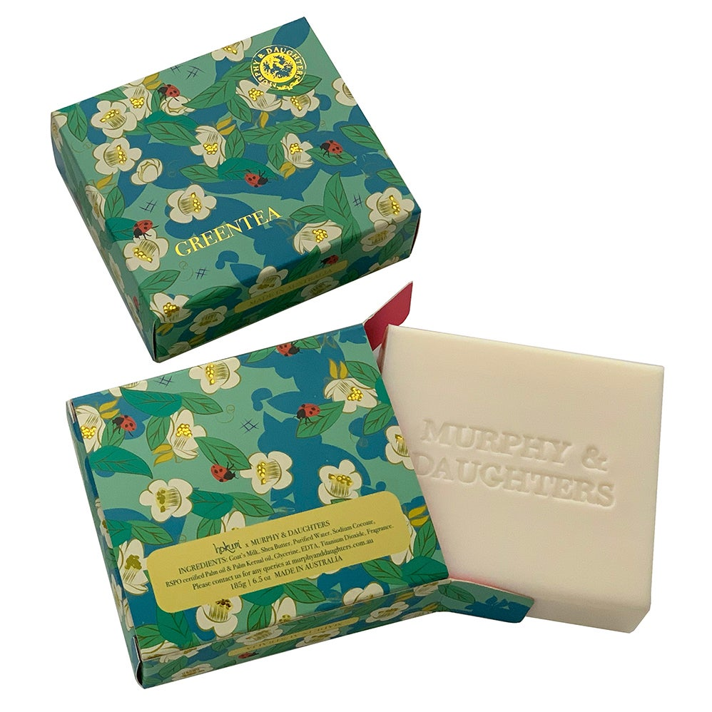Image of Boxed Soap - Green Tea
