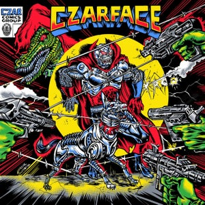 Image of Czarface - The Odd Czar Against Us - LP (SILVER AGE)