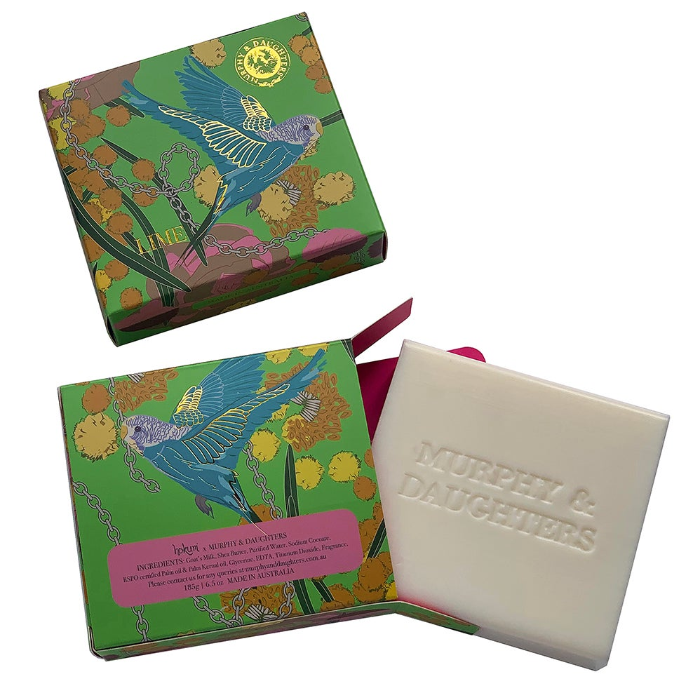 Image of Boxed Soap - Lime