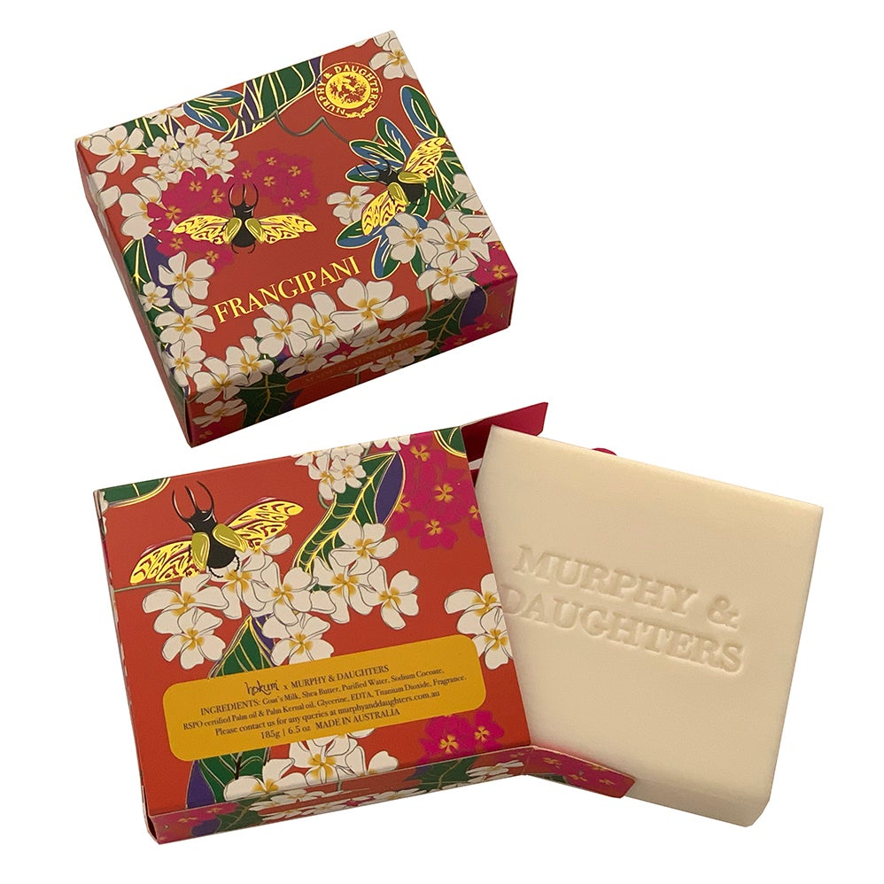 Image of Boxed Soap - Frangipani