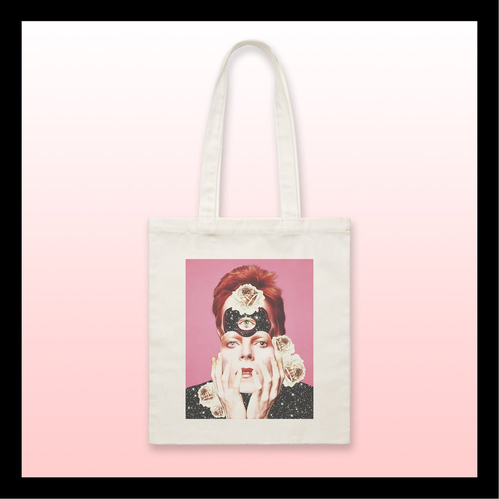 Image of Tote bag BOWIE