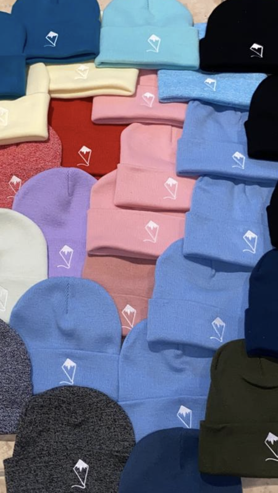 "Image of Indoor Kites ""Mountain Range"" Beanie"