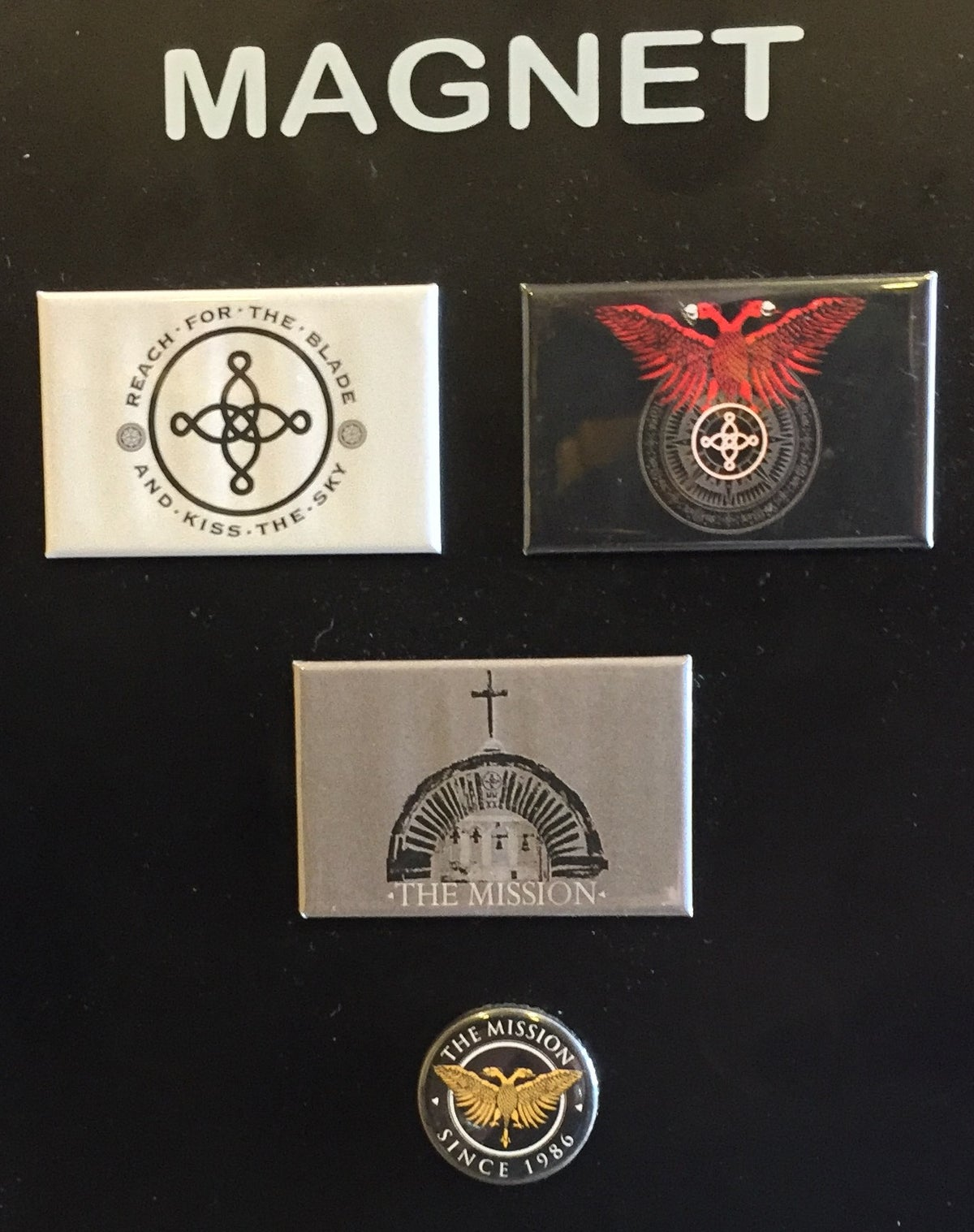 Image of The Mission Magnet Set
