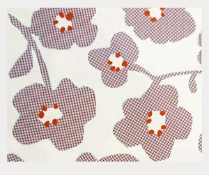 Image of Tissu: Seventies flowers