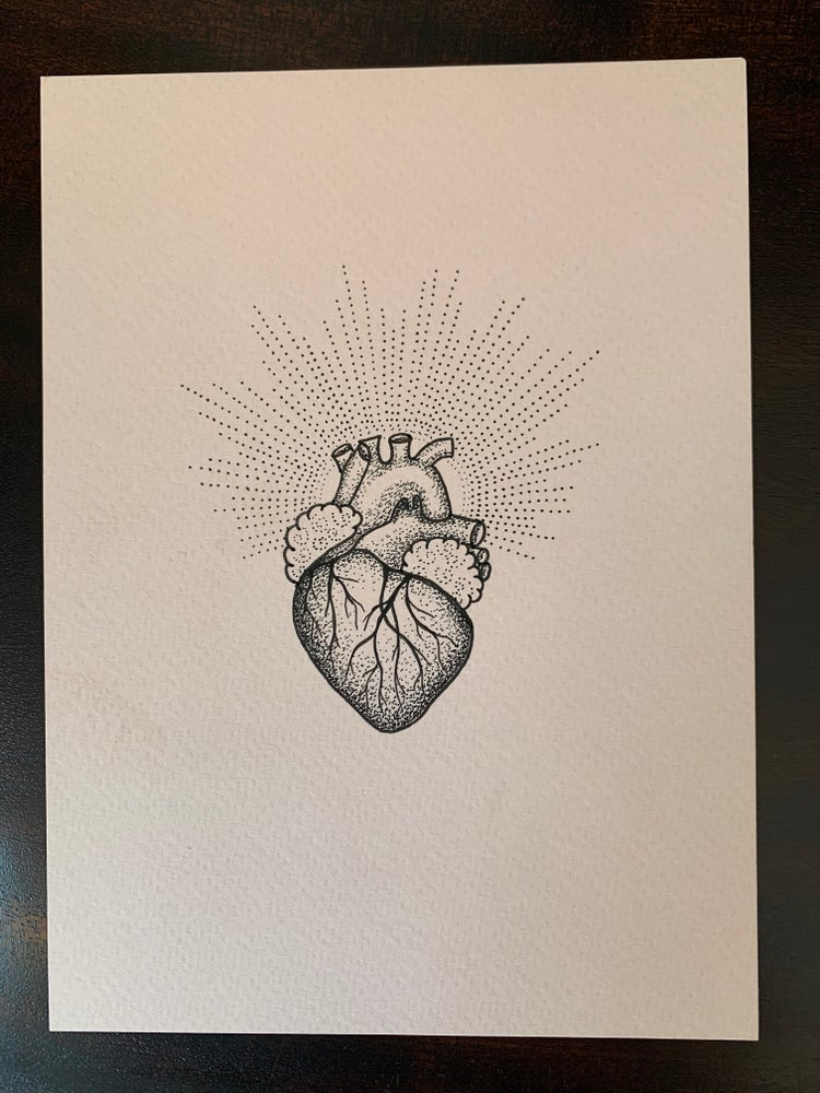 Image of Original Heart #3