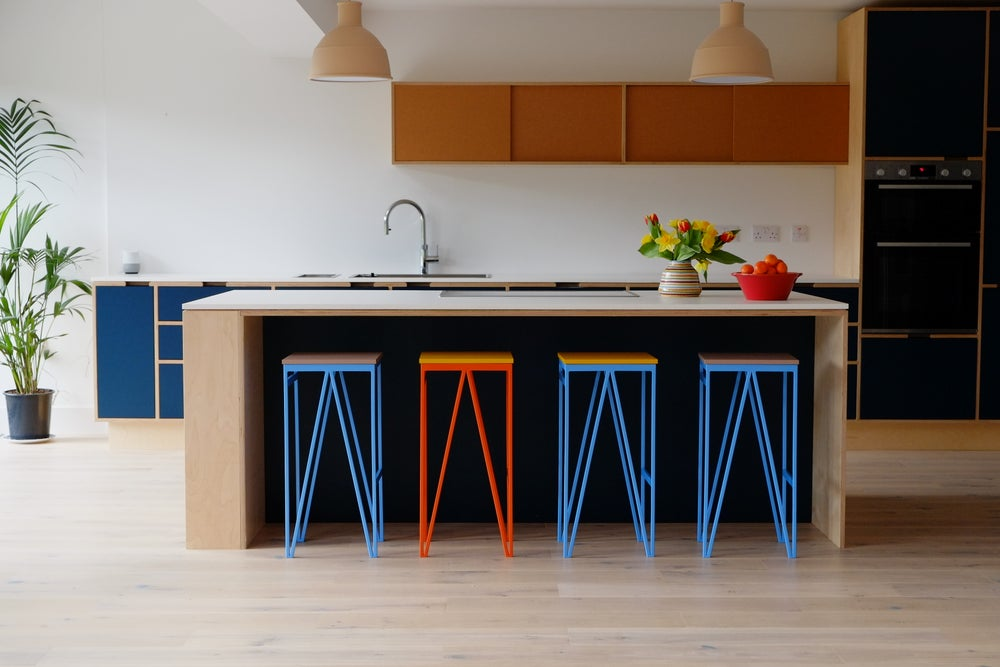 Image of Colour Play Kitchen Counter Stool