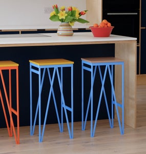 Image of Colour Play Kitchen Counter Stool - 91 colour combinations