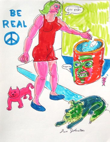 Image of Daniel Johnston - Be Real