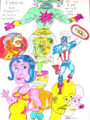 Image of Daniel Johnston - Forgive and Forget always Onward
