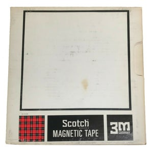 "Image of 3M 1"" 20W Paper Tape Leader Tape Uncoated 2.5 mil Paper NEW OLD STOCK"