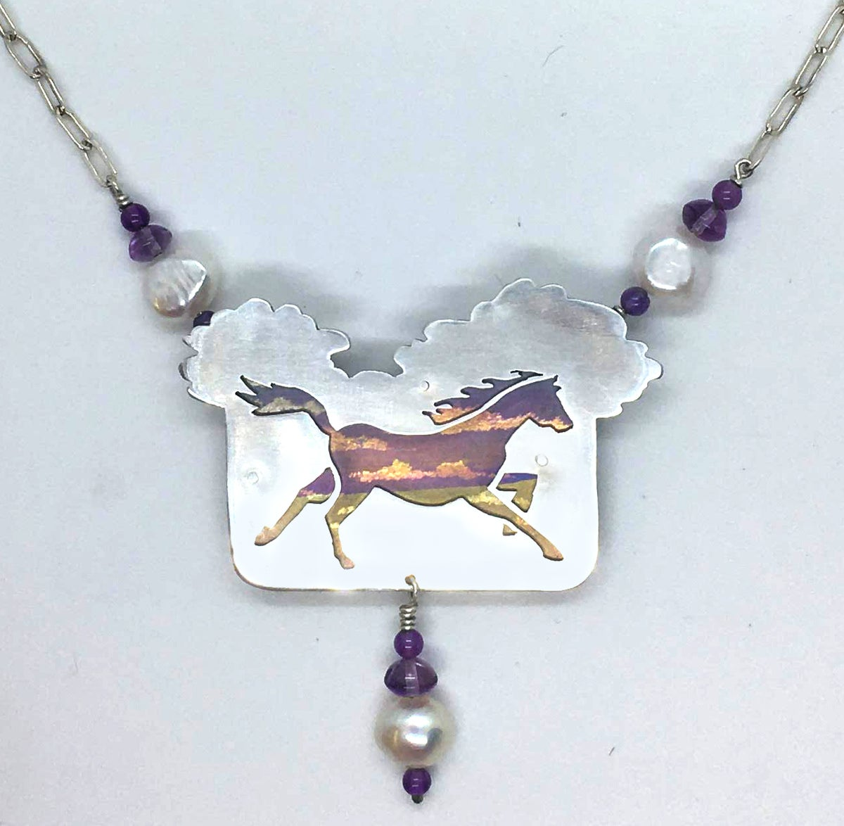 Image of Dream Horse Necklace