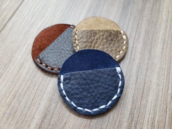 Image of Leather Pocket State Holder