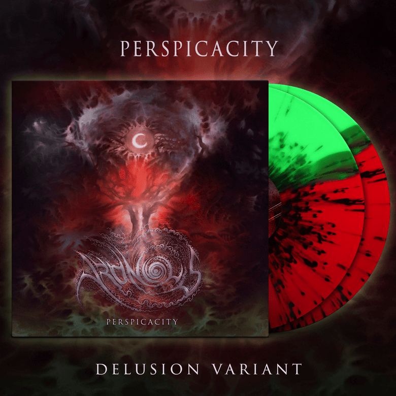 Image of ARONIOUS - Perspicacity LP | Delusion Variant