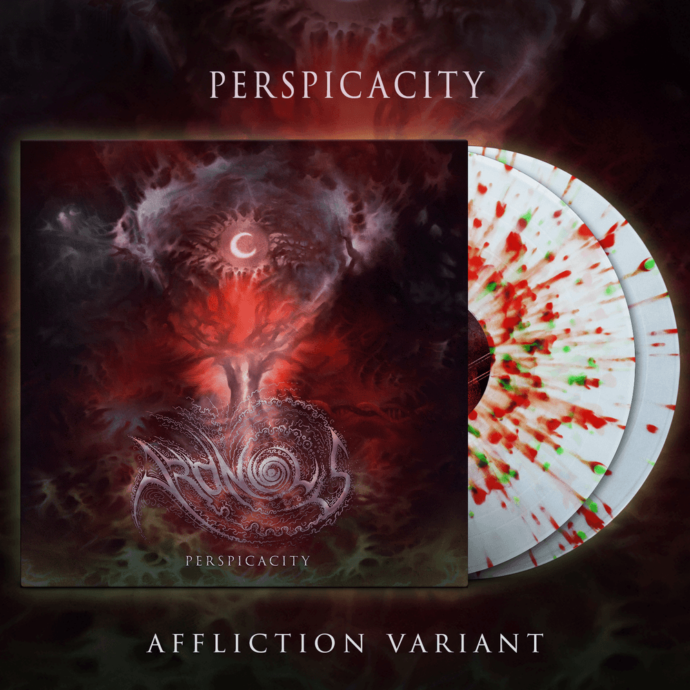 Image of ARONIOUS - Perspicacity LP | Affliction Variant