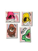 Image of Hand Drawn Stickers