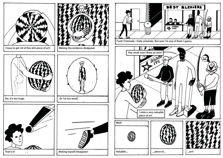 Image of SQUASH MAGAZINE #5 – Brei