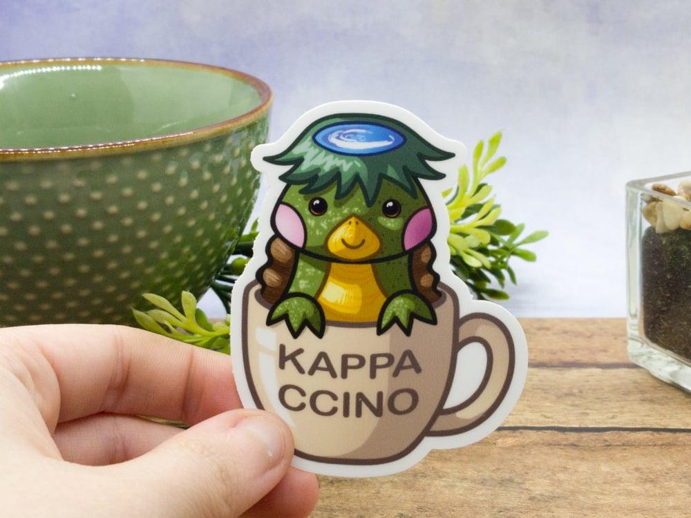 KappaCcino Vinyl Sticker - 3 Inch