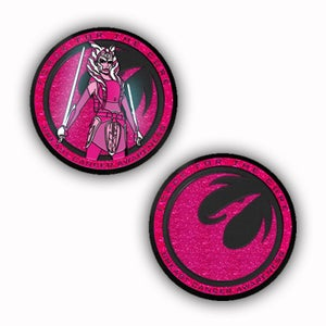 Image of Force For The Cure: Fulcrum Challenge Coin