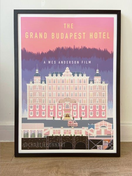 Image of The Grand Budapest Hotel Digital Art Print