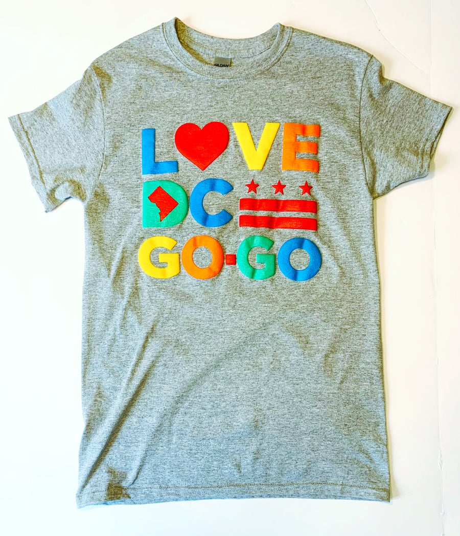 "Image of Love DC Go-Go - ""Barnett's Crystal Room"" Tshirt"