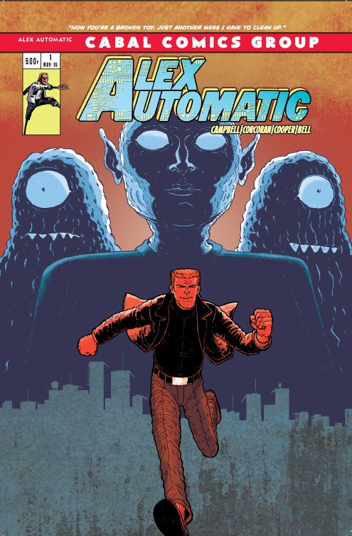 Image of Alex Automatic #1 - Print Copy