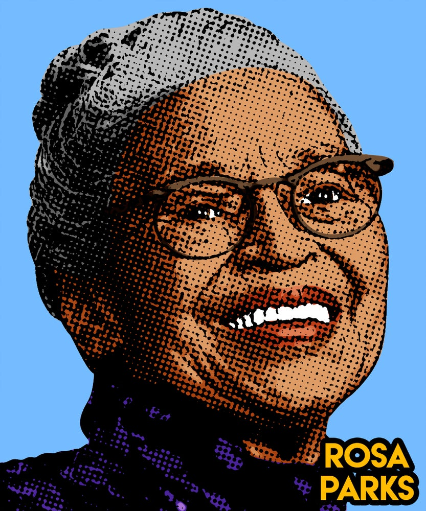 Image of Rosa Parks Sticker