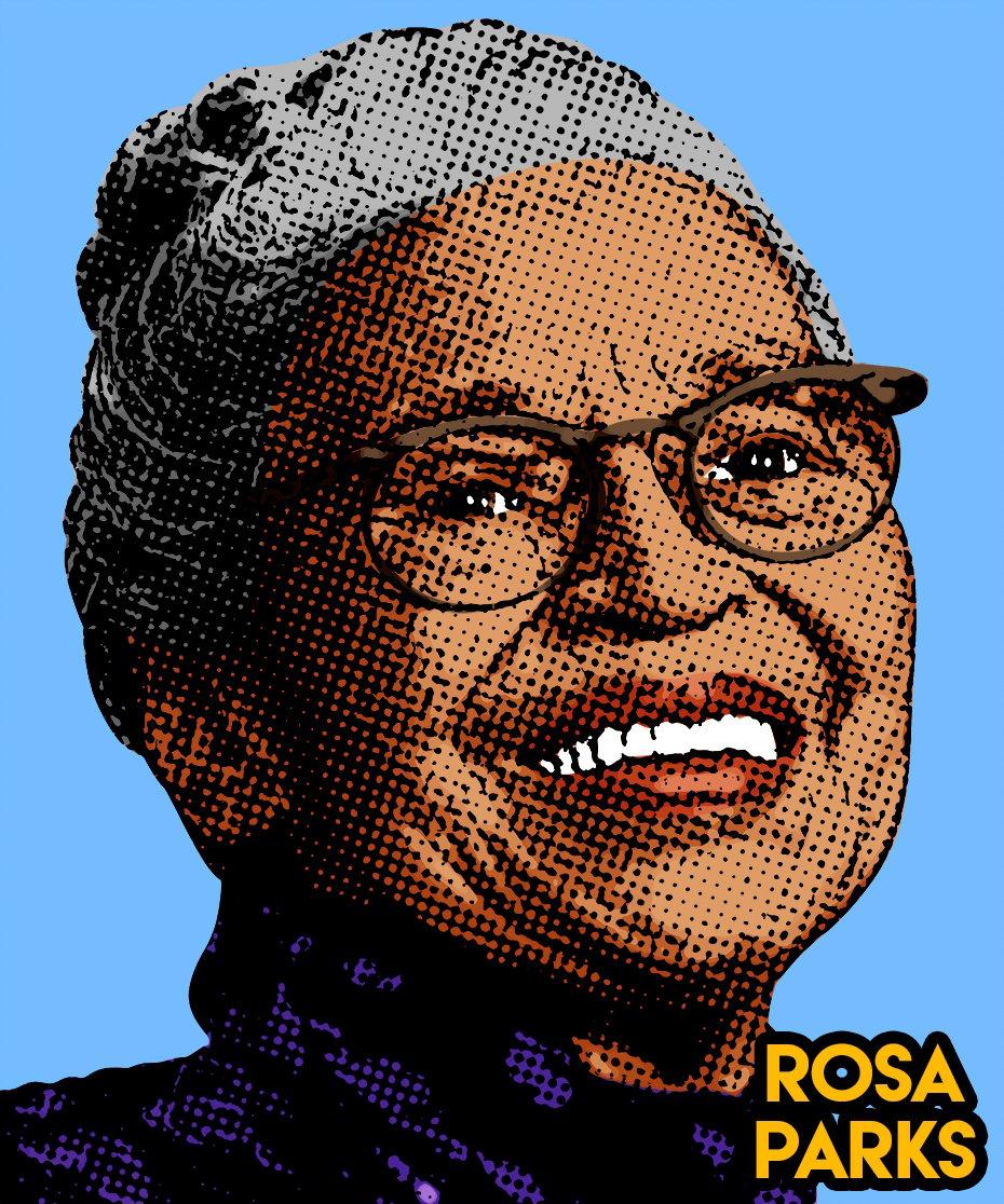 Image of Rosa Parks Sticker