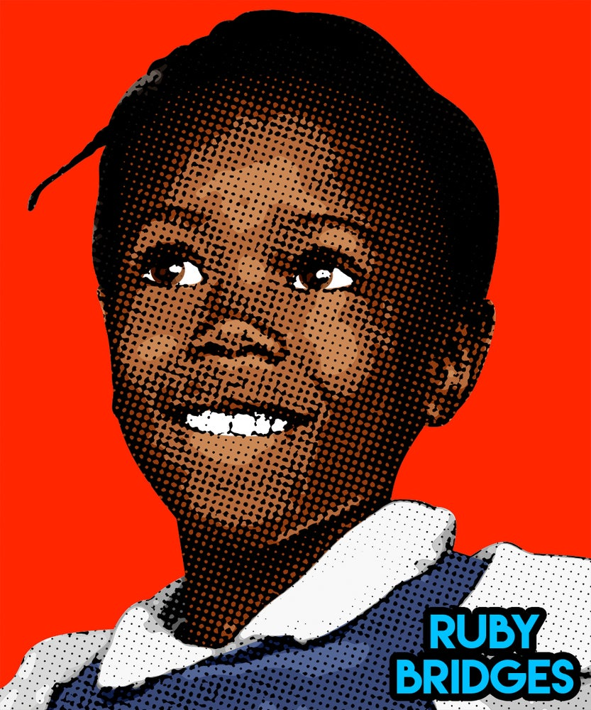 Image of Ruby Bridges Sticker