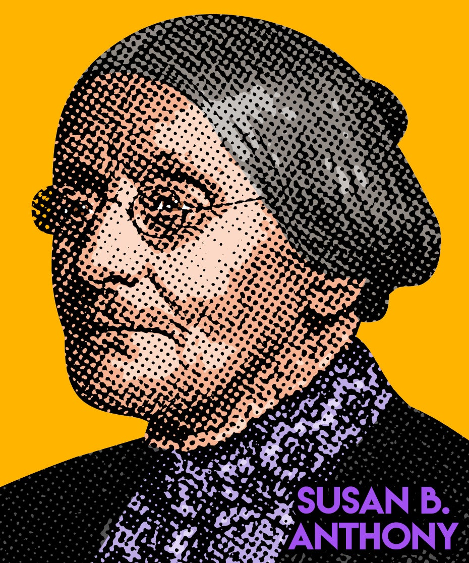 Image of Susan B. Anthony Sticker