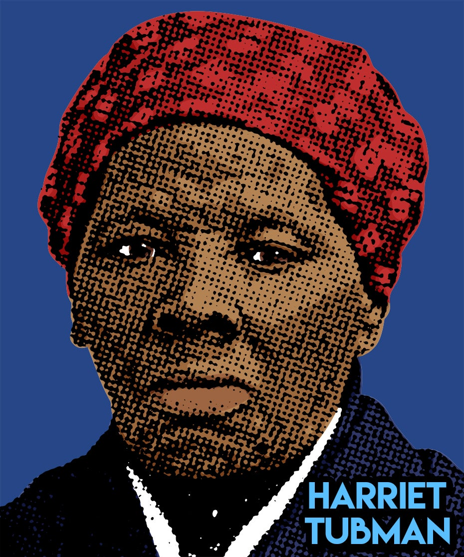 Image of Harriet Tubman Sticker