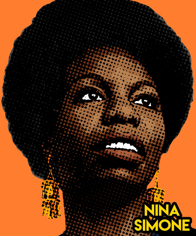 Image of Nina Simone Sticker