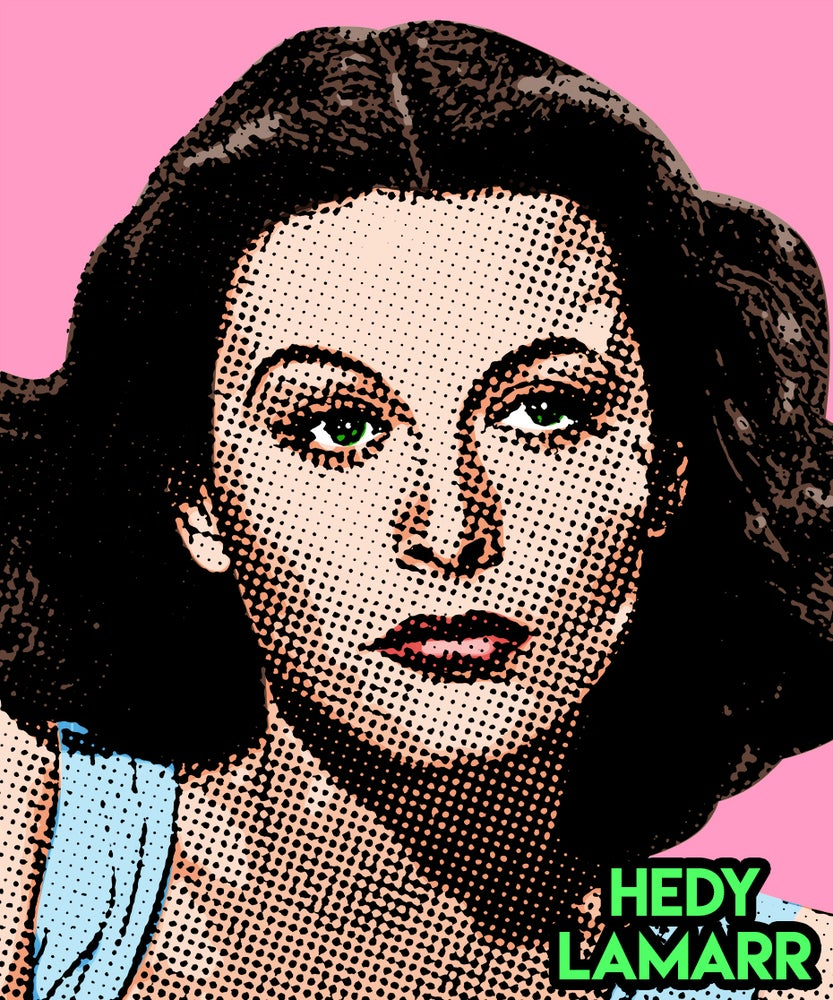 Image of Hedy Lamar Sticker