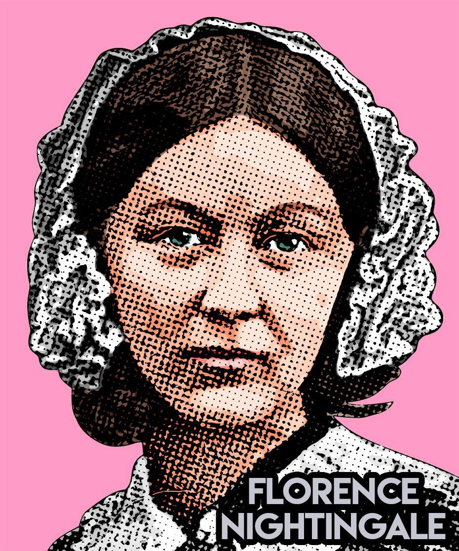 Image of Florence Nightingale Sticker