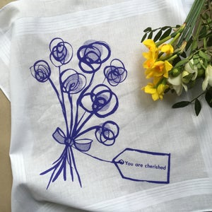 Image of You Are Cherished Hankie