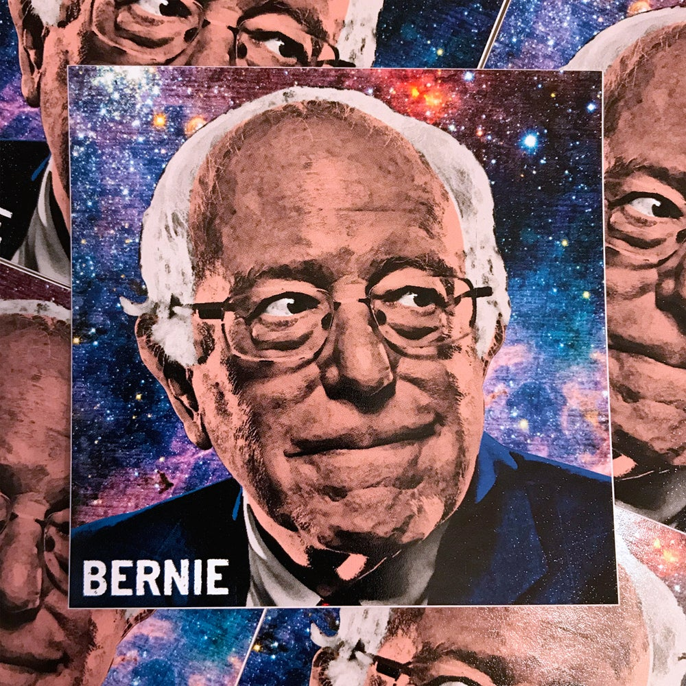 Image of Bernie Sanders Sticker
