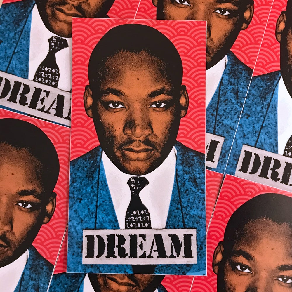Image of MLK Dream Sticker