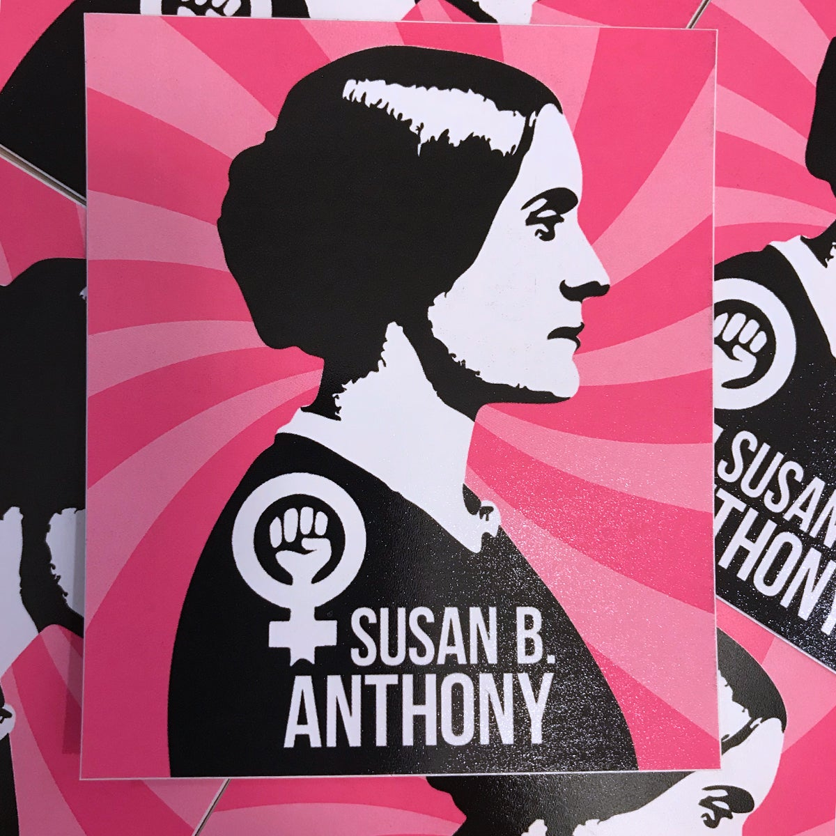 Image of Susan B Sticker