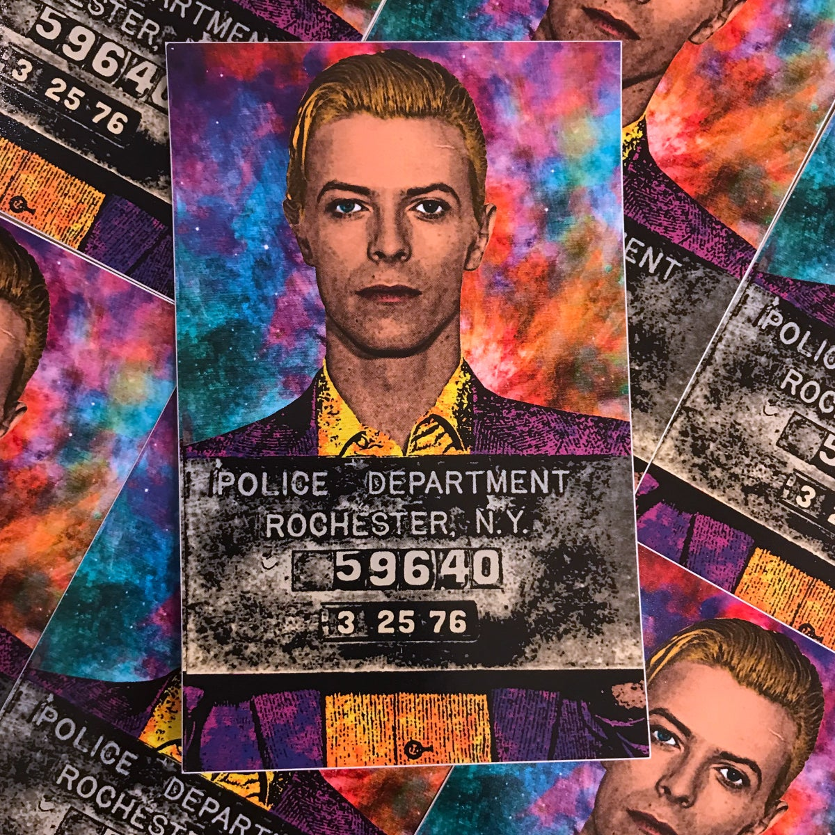 Image of David Bowie Sticker