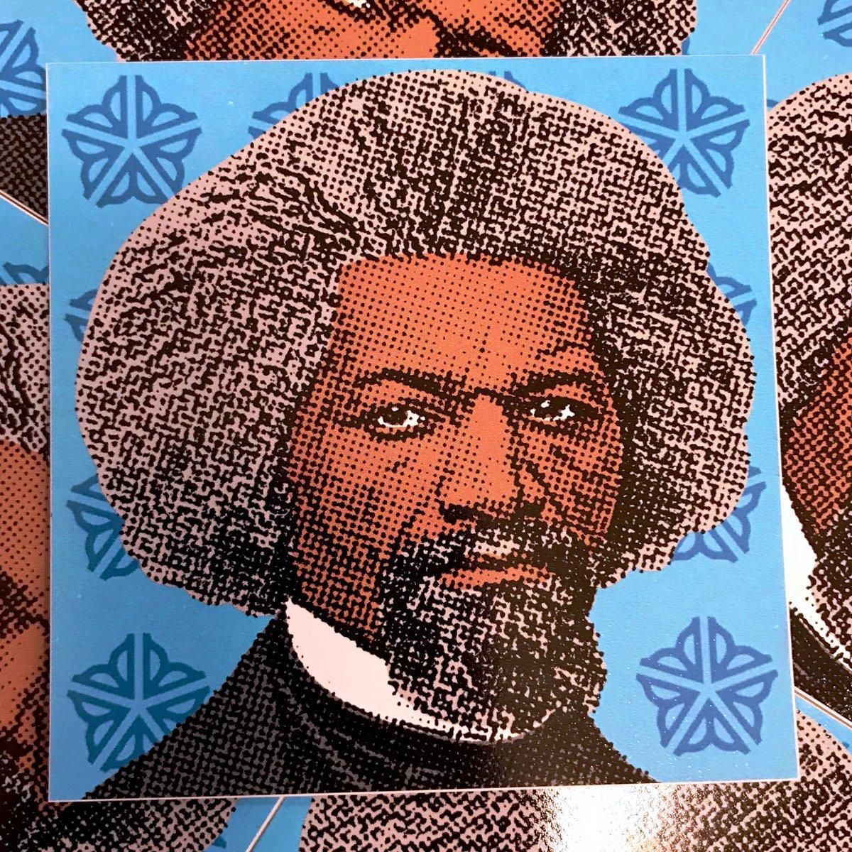 Image of Frederick Douglass Sticker